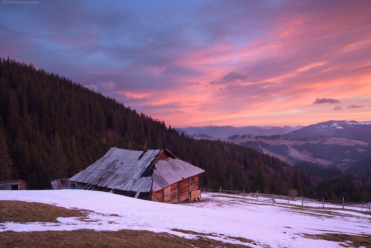 горы, карпаты, смотрыч, Александр Котенко