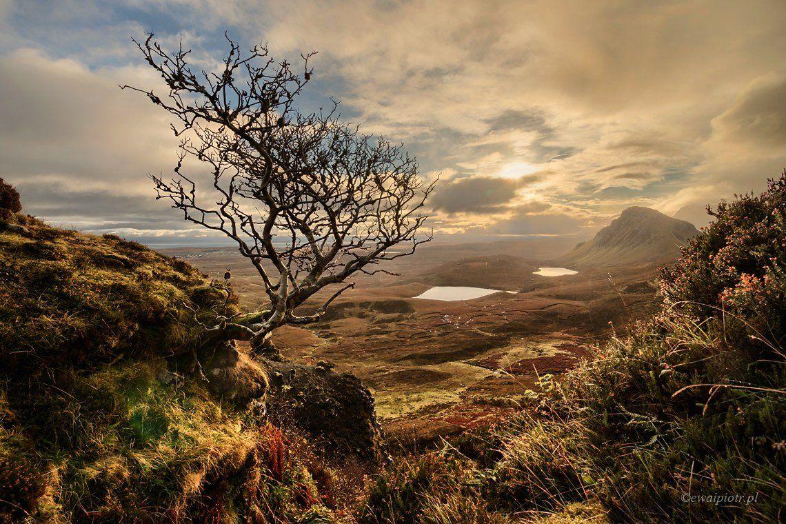 Scotland, Skye, Quiraing Mountains, sunrise, Piotr Debek