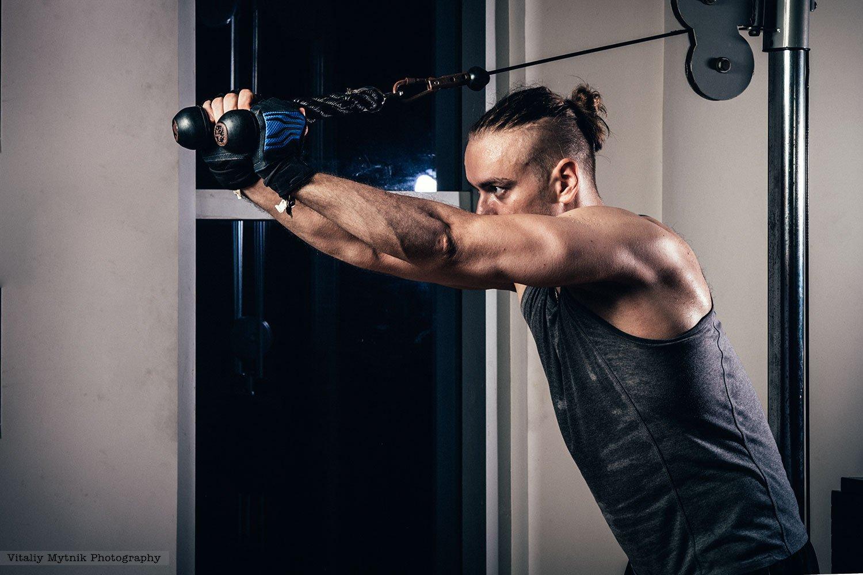 спорт, здоровье, мышцы, работа над собой, тренировка, , Виталий Мытник
