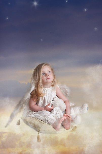 ангел, детский портрет, Siren (Анна Беркоз)