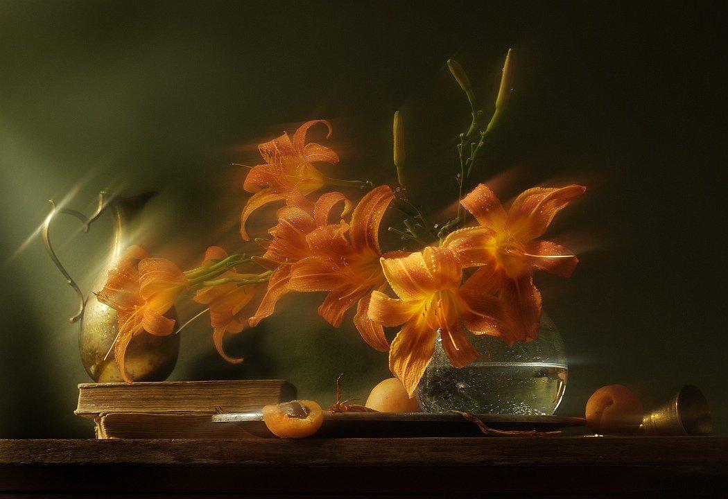 утро, лилия, радость, Юля Медведева
