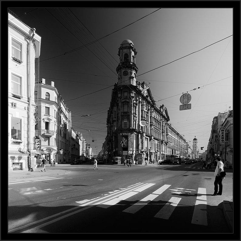 петербург, центр, загородный, 5углов, чб, Kirill Shapovalov