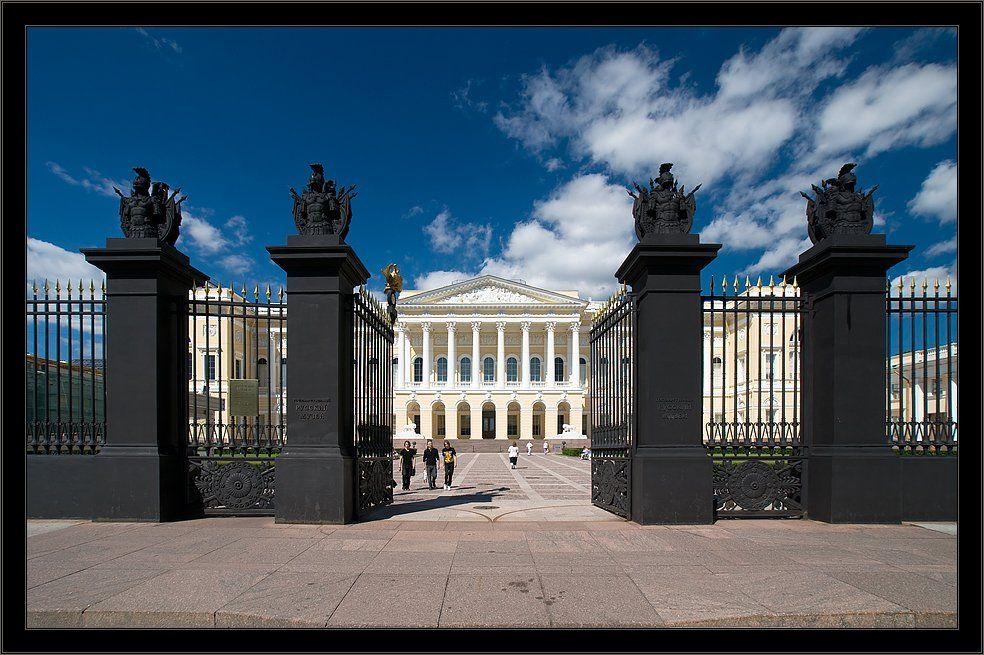 петербург, центр, русский, музей, лето, открытка, Kirill Shapovalov