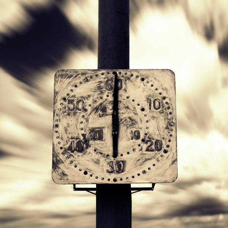 время, часы, облака, Dmitry Alekseyev