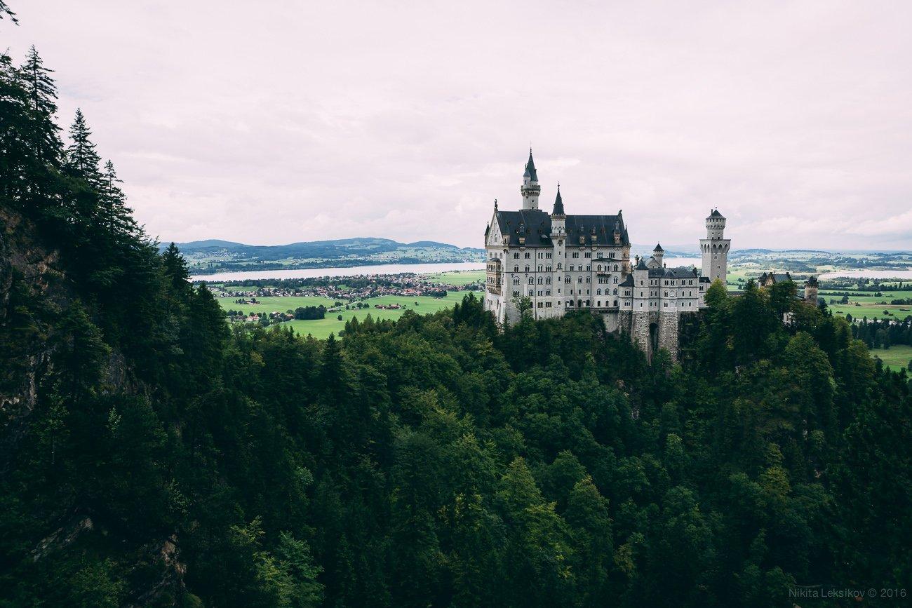 Германия, замок, Бавария, Nikita Leksikov