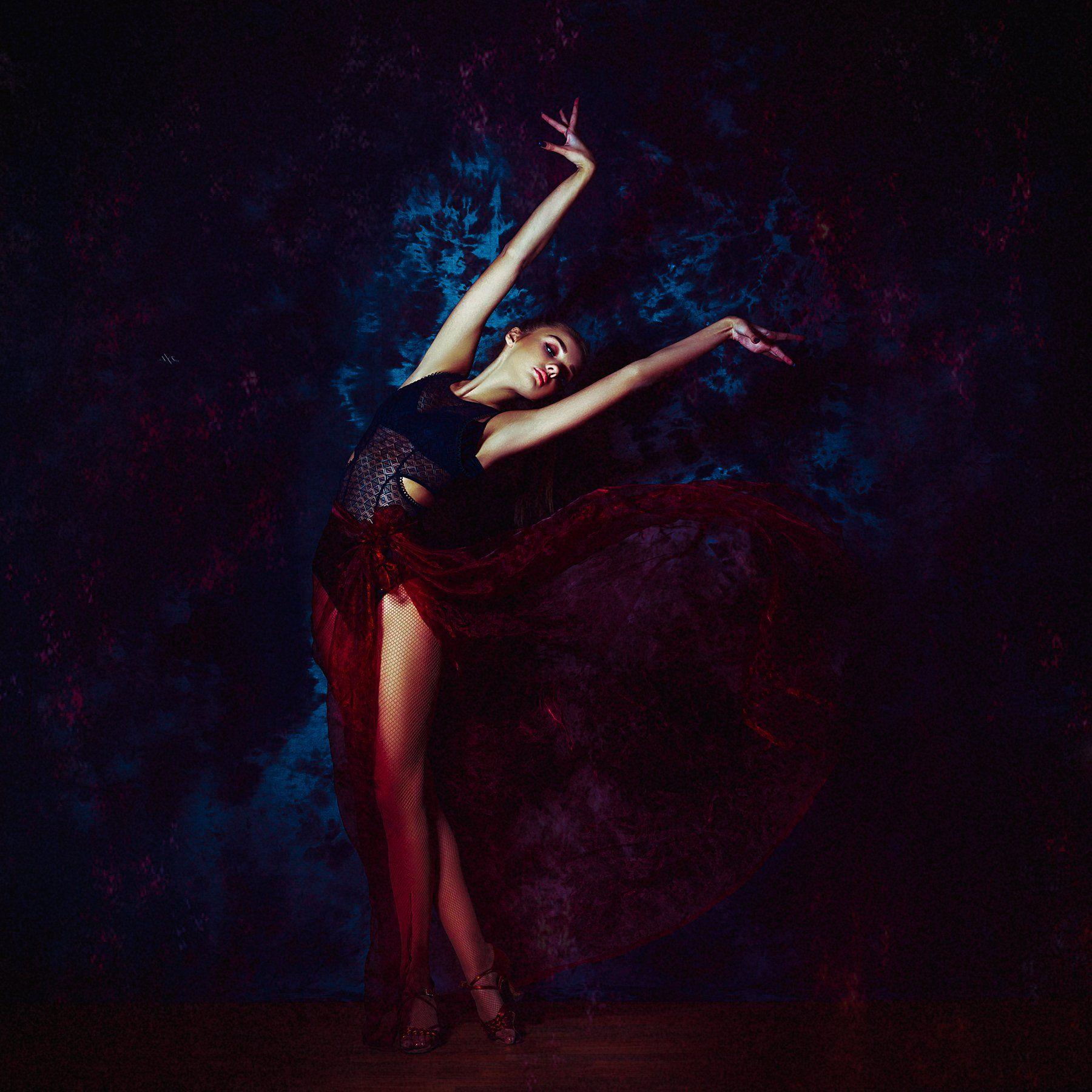 woman, dance, light, Руслан Болгов (Axe)