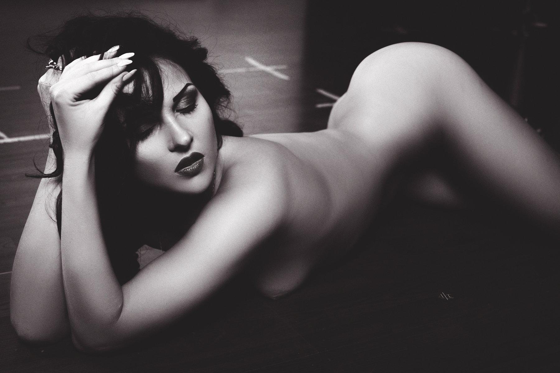woman, nude, portrait, Руслан Болгов (Axe)