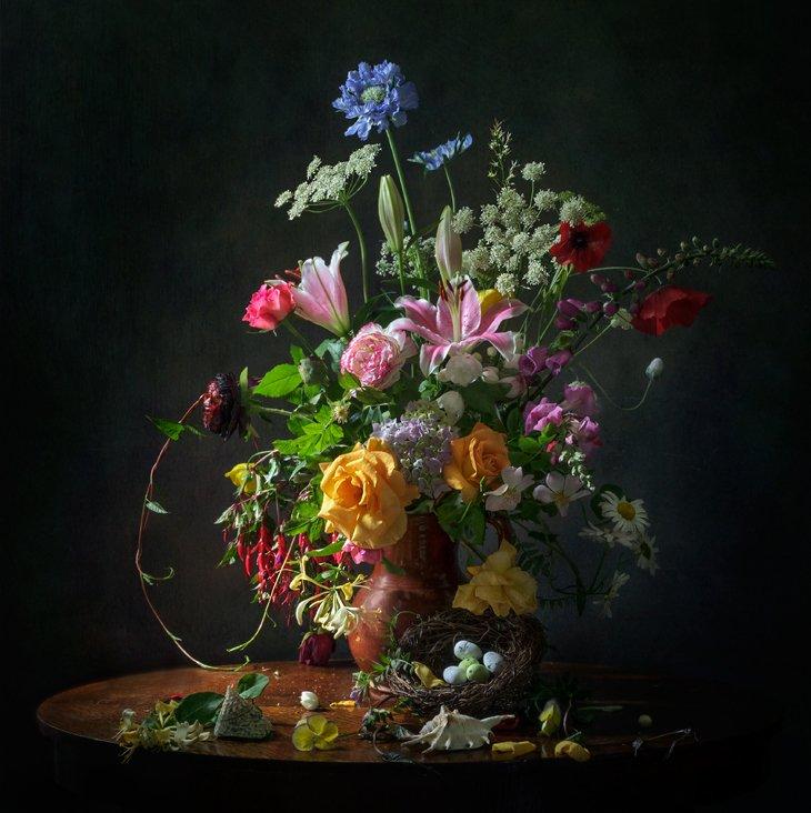 летний букет, цветы, Anyuta Gillespie