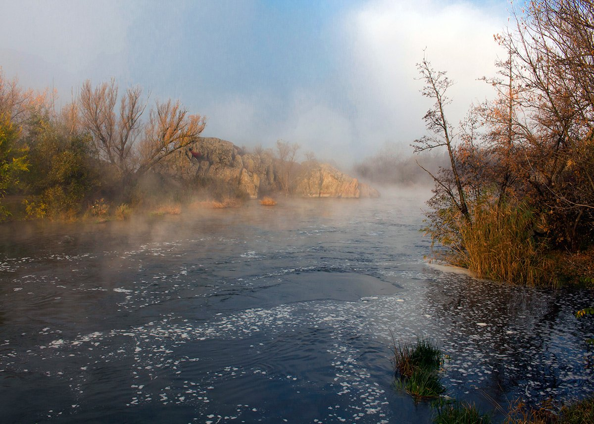 река. осень., Александр Игнатьев