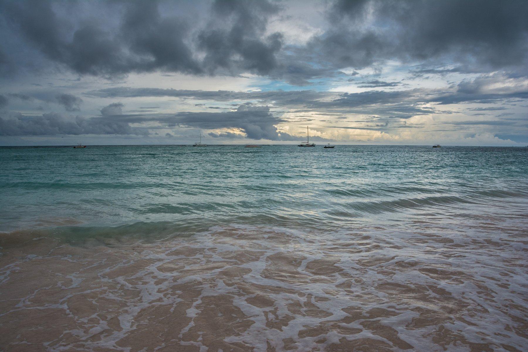 Атлантика, океан, небо, облака, яхты, вода, море, лето, утро, путешествие, пейзаж, природа, стихии, Sergey Oslopov