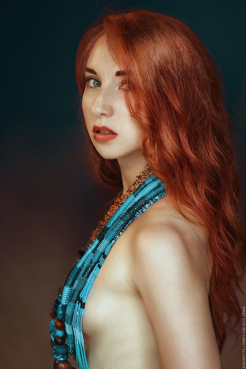 ukraine, red, portrait, girl, beauty, kiev, people, kyiv, golden, cute, nude, hair, sexy, redhead, naked, passion, gorgeous, ginger, retouch, temptation, luxurious, accessories, red, fox, oleg ermak, gire, Necklaces, olegermak, oleg_ermak,, Олег Єрмак