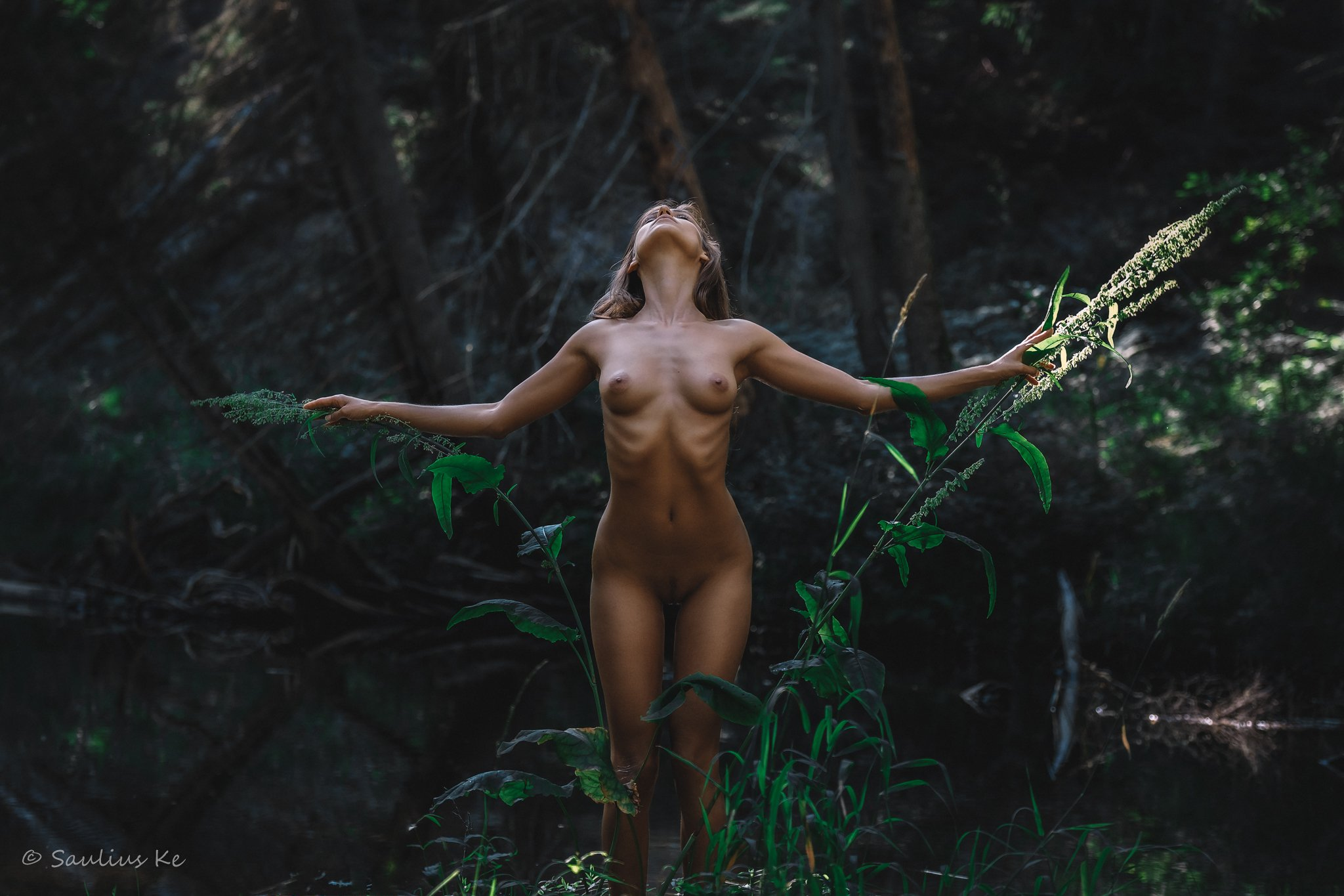 naked nude female body, Saulius Ke