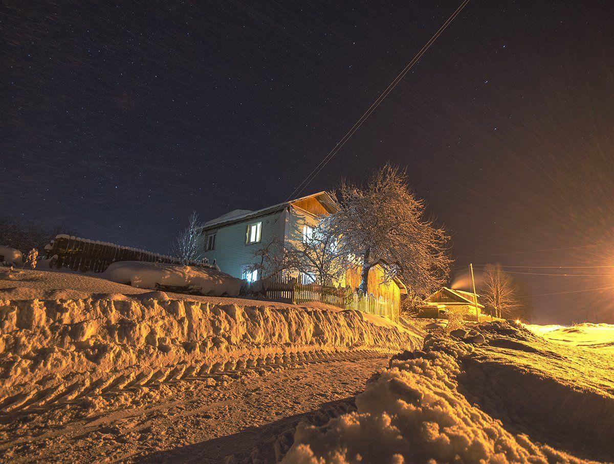 морозы,зима,звезды, Карепанов Евгений