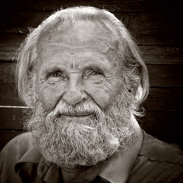 дед, взгляд, доброта, чб, глаза, борода, vladimirvolkhonsky