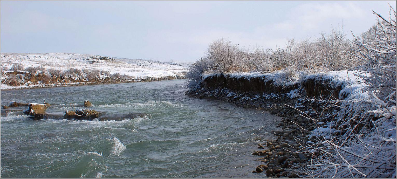 пейзаж, природа, зима, Геннадий Меремьянин