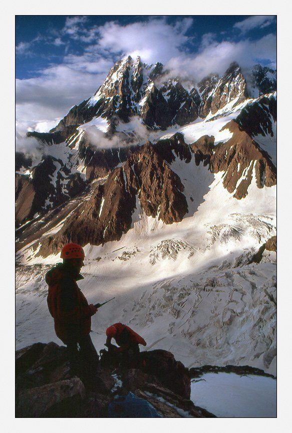 горы, кавказ, шхара, альпинизм, томашек, sshestov