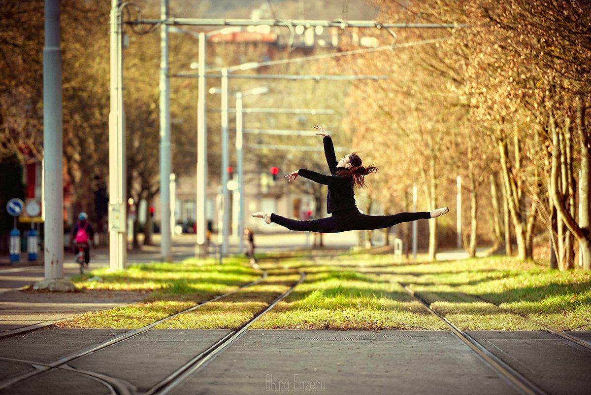 portrait, ballet, ballerina, dance, dancing,, Akira Enzeru
