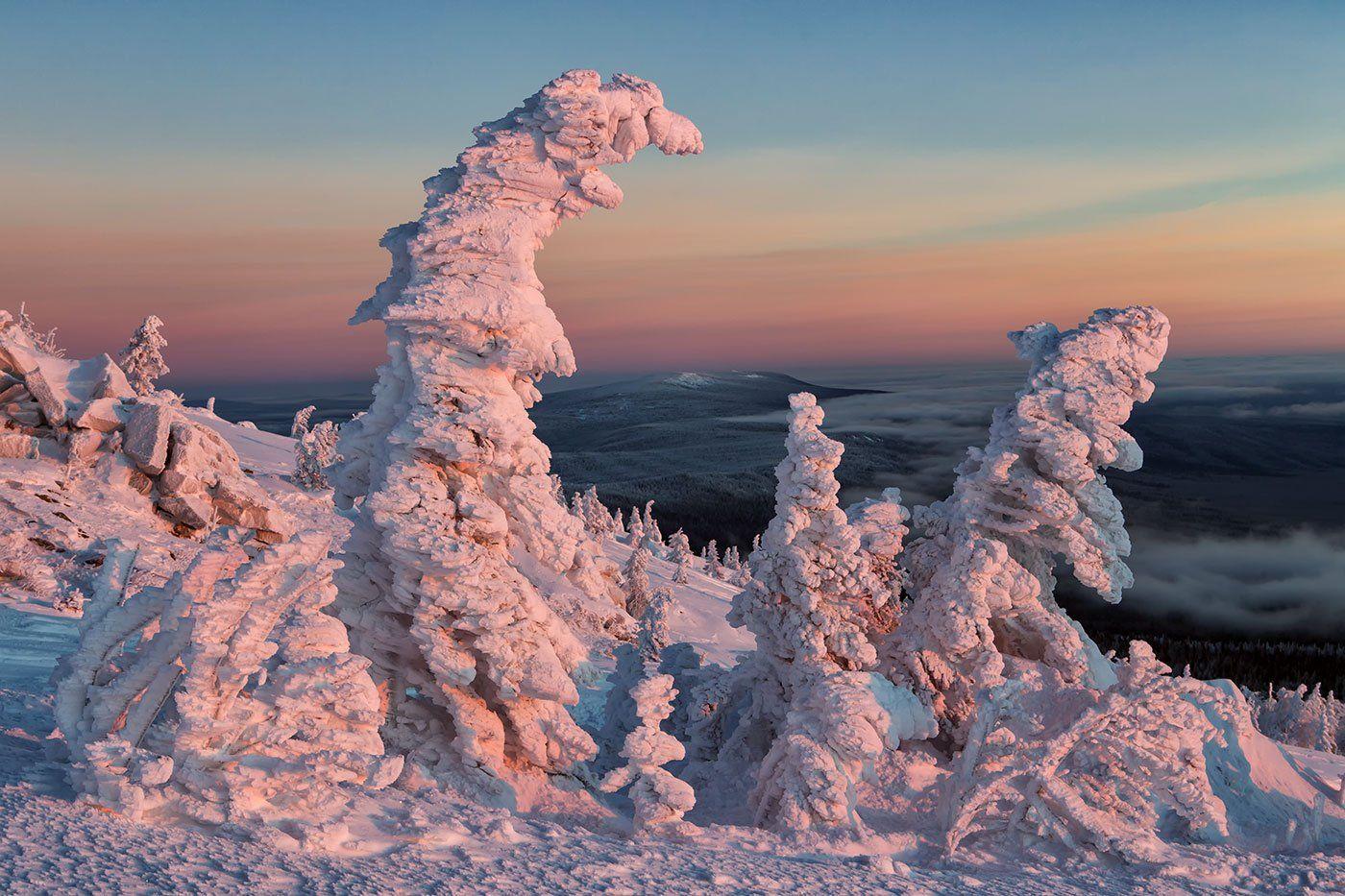 южный урал, таганай, зима, Сергей Карпухин