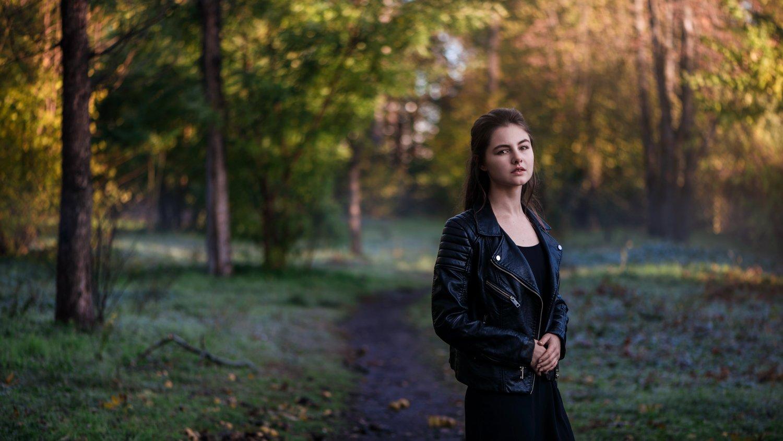 девушка, портрет, природа, Угрюмов Игорь