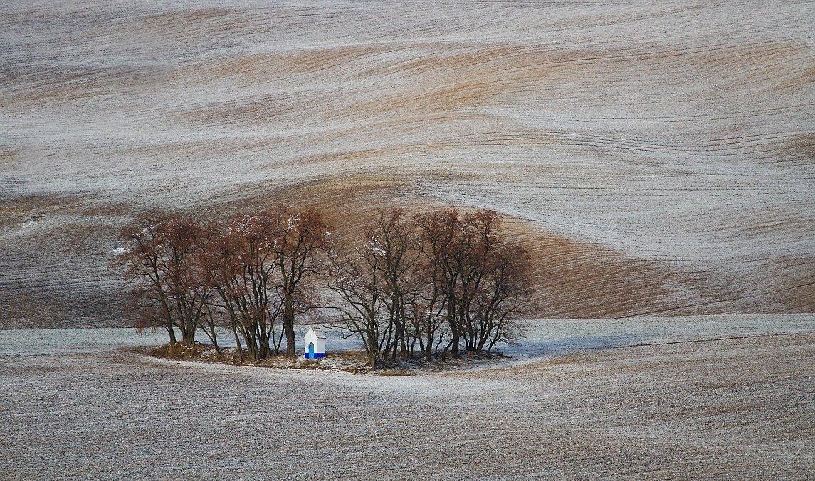 Moravian Tuscany winter, František Uhler