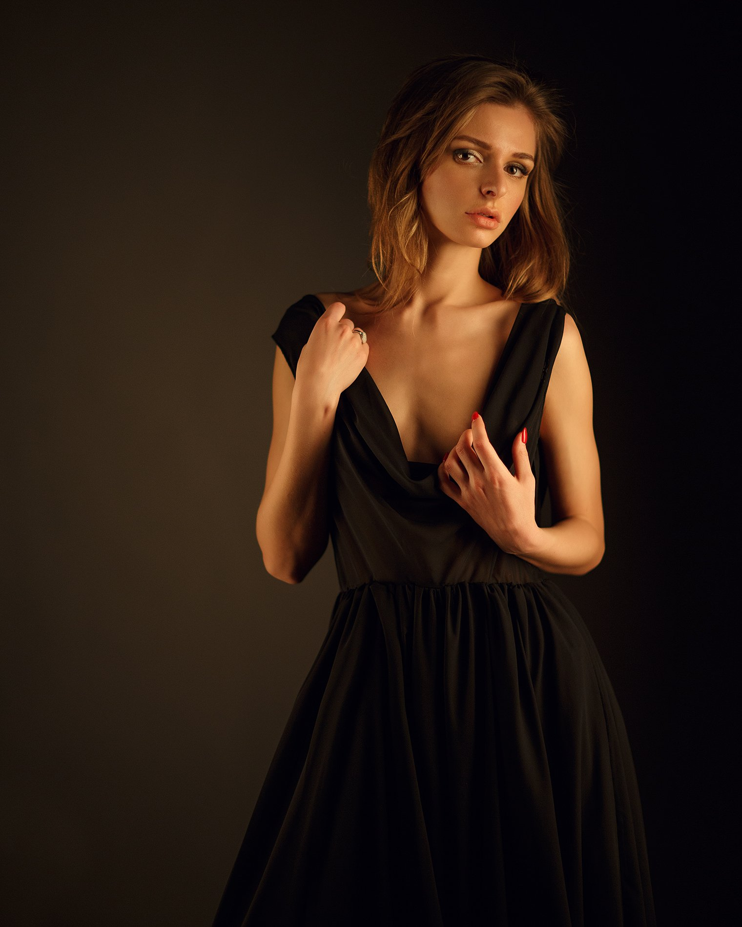 Portrait, girl, beauty, Сергей Сорокин