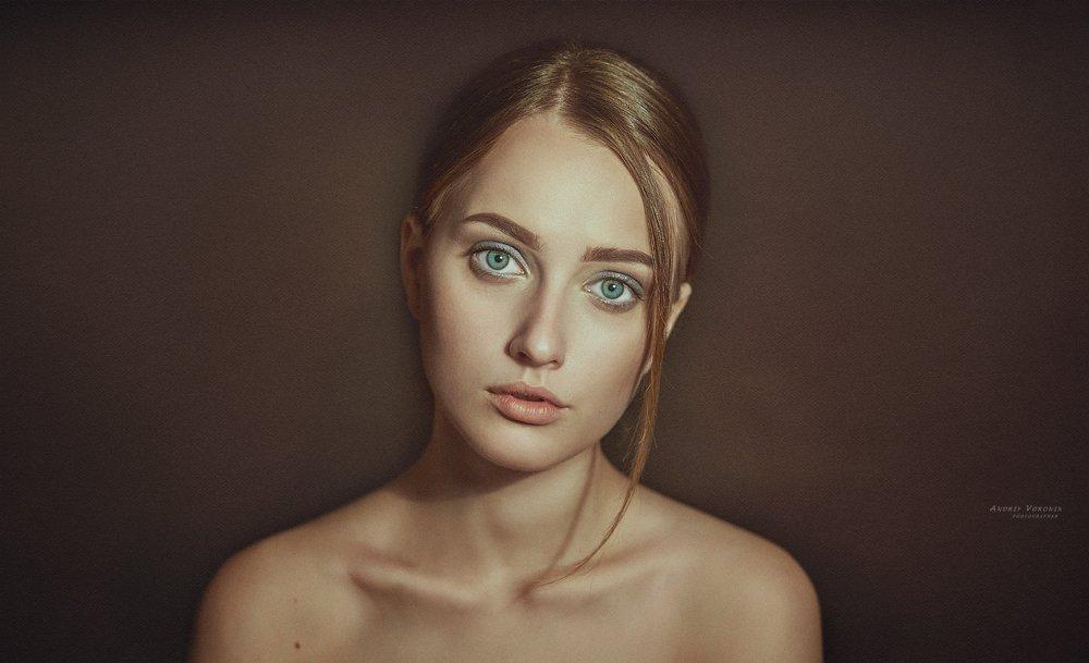 портрет,взгляд,девушка,глаза,, Воронин Андрей