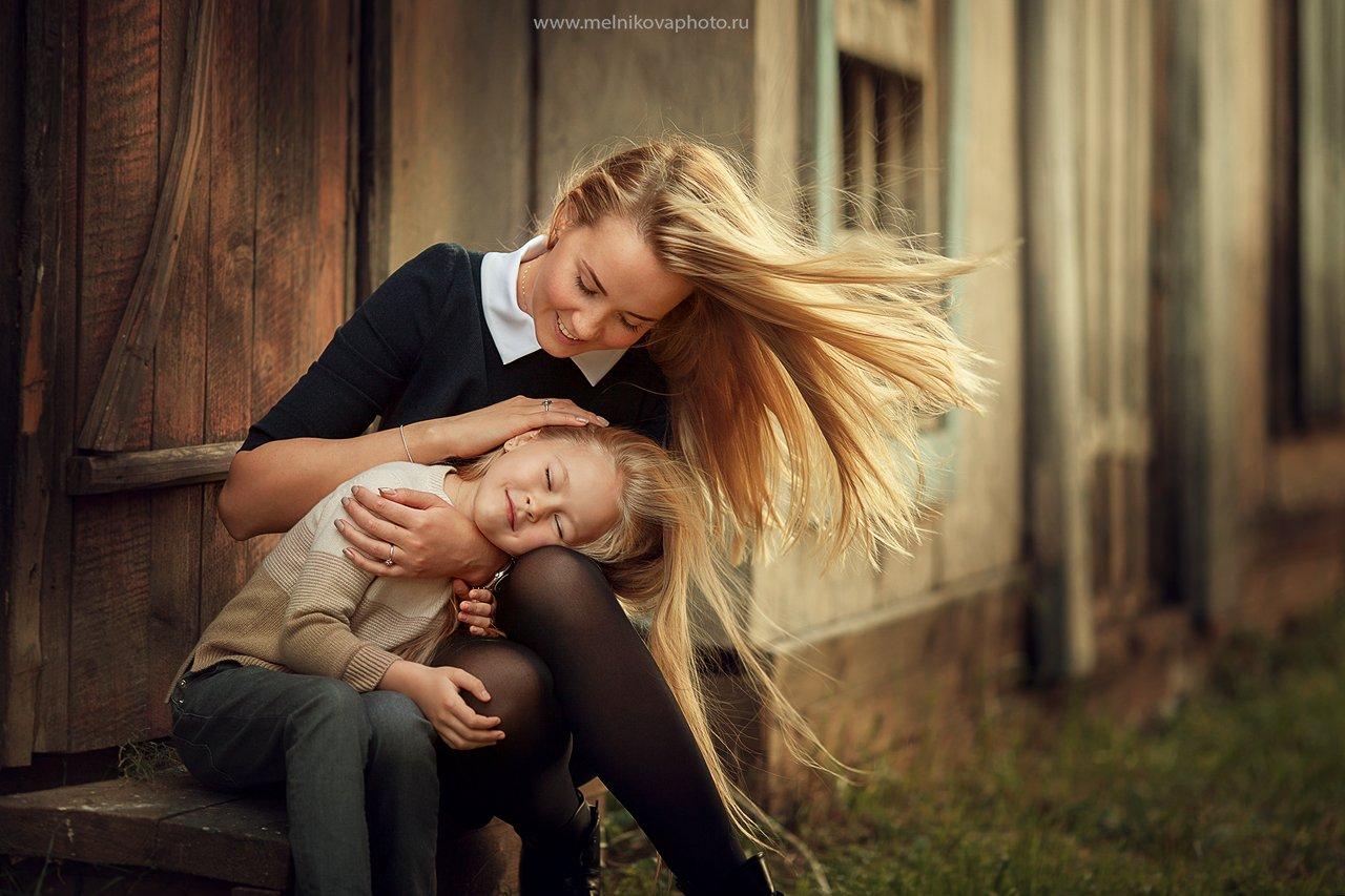 семья, мать и дочь, любовь, волшебство, счастье, фотограф москва, Анна Мельникова