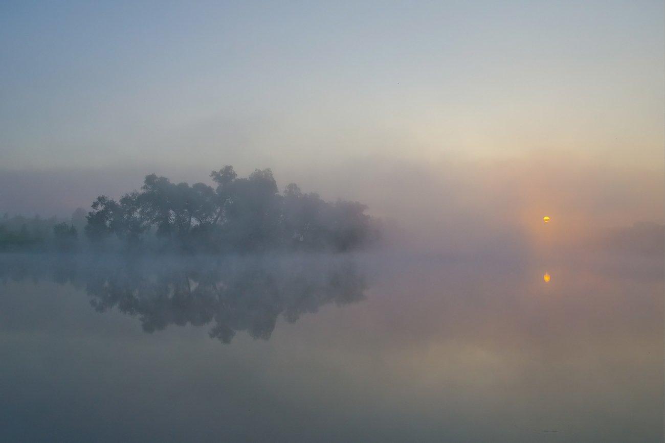 утро лето рассвет восход пейзаж, Михаил Агеев