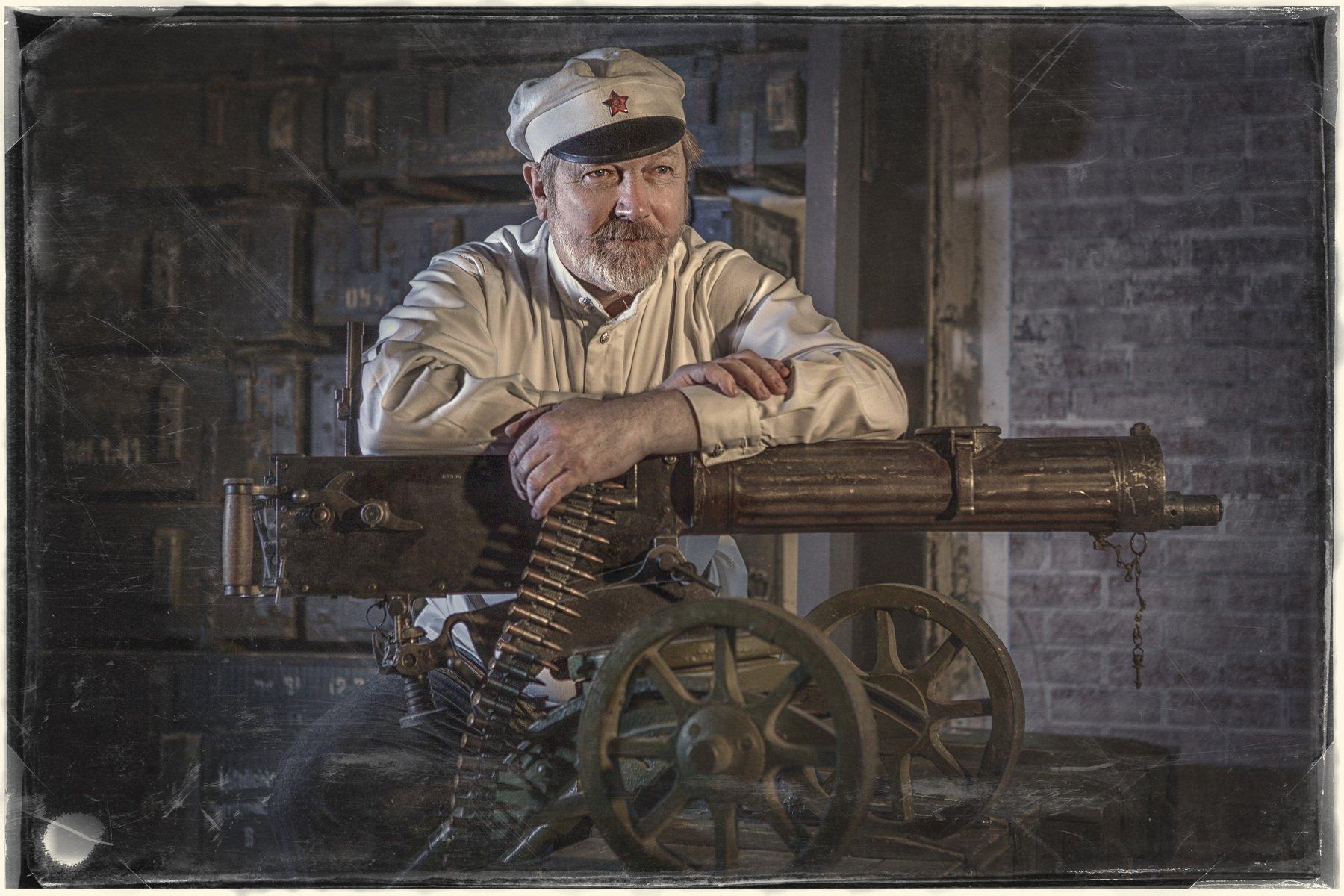 кино, пулемёт, сухов, фильм, студия, Сергей Рехов