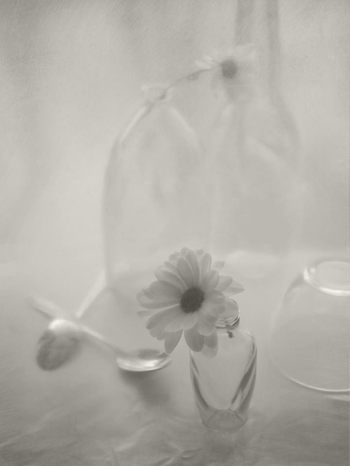 светлый, натюрморт, ложки, бутылка, чашка, посуда , Елена Лысенко