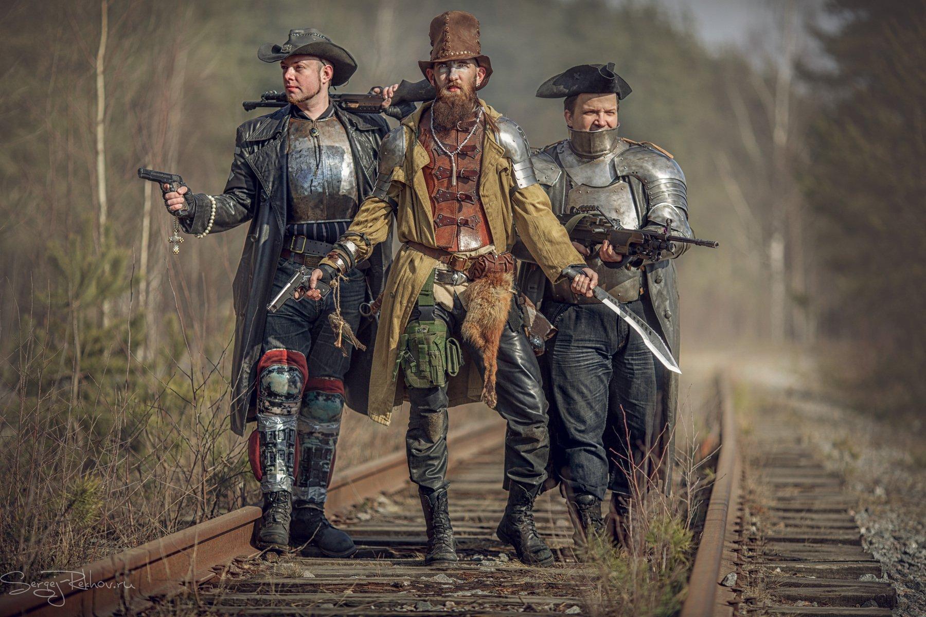 охотник, железная дорога, путь, приключение, Сергей Рехов