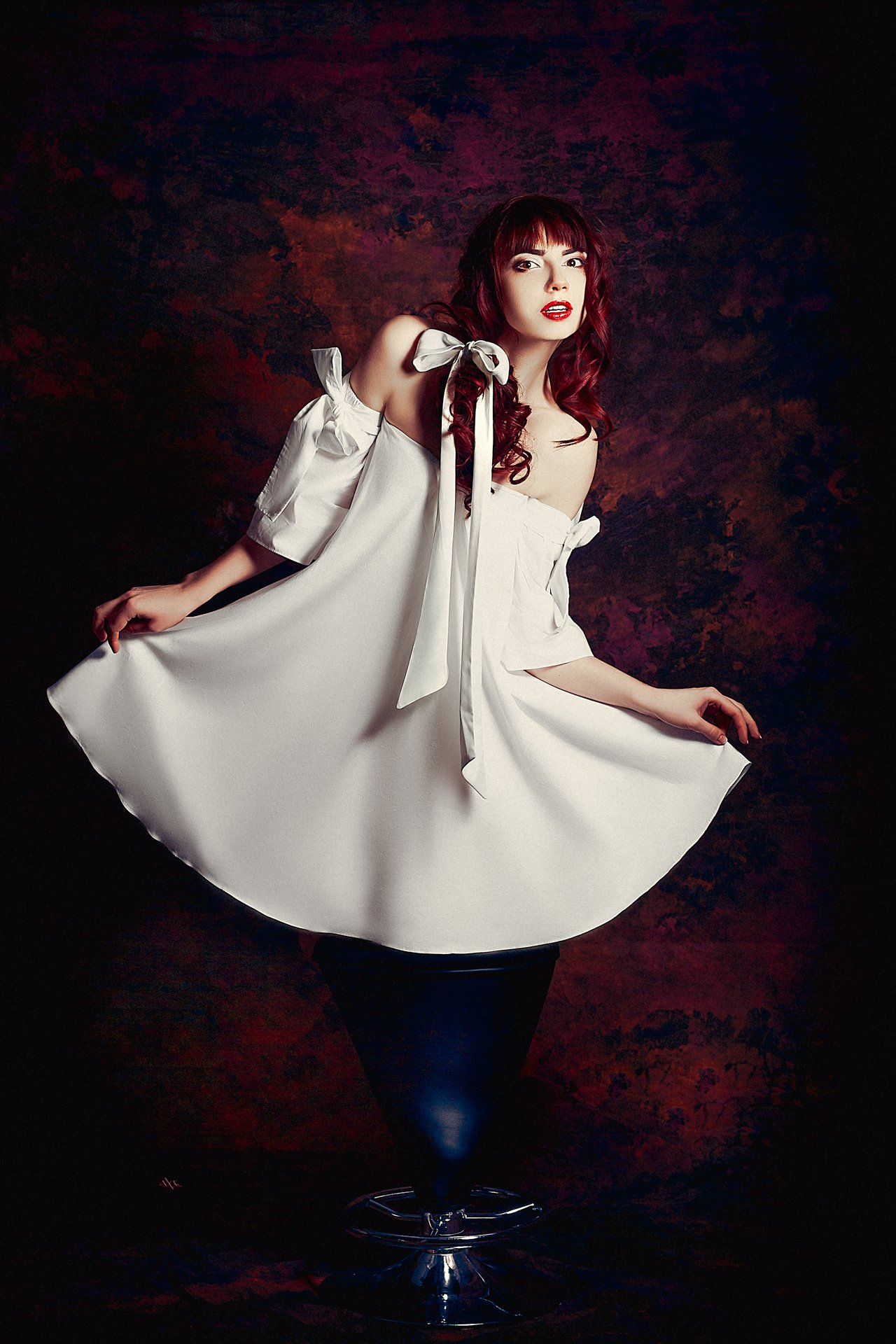 woman, portrait, studio, Руслан Болгов (Axe)