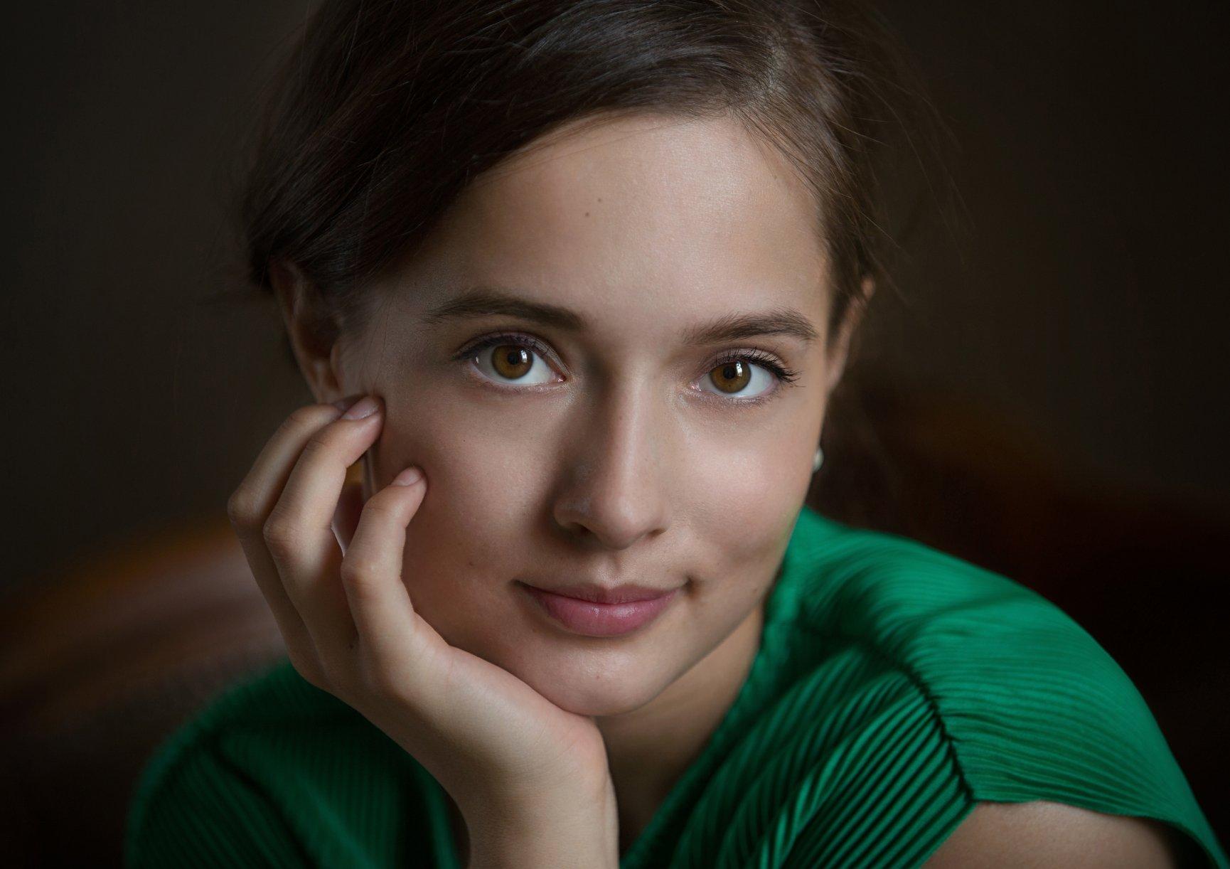 портрет, девушка, актриса, Алексей Назаров