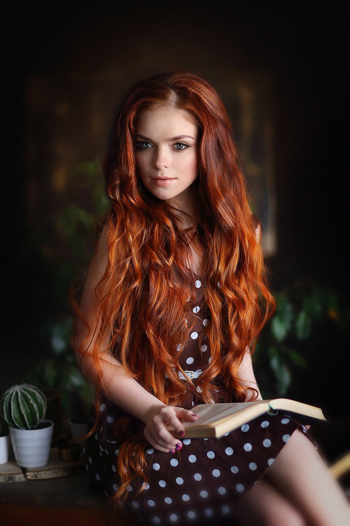 рыжая, Ульянова Лилия