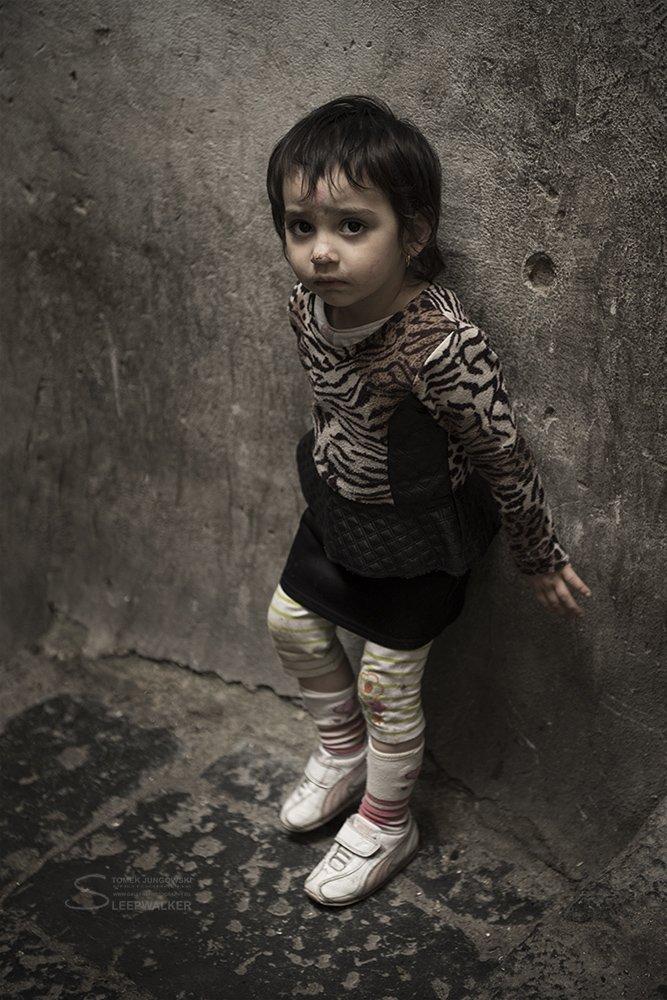 children, child, alert, napoli, portrait, Tomek Jungowski