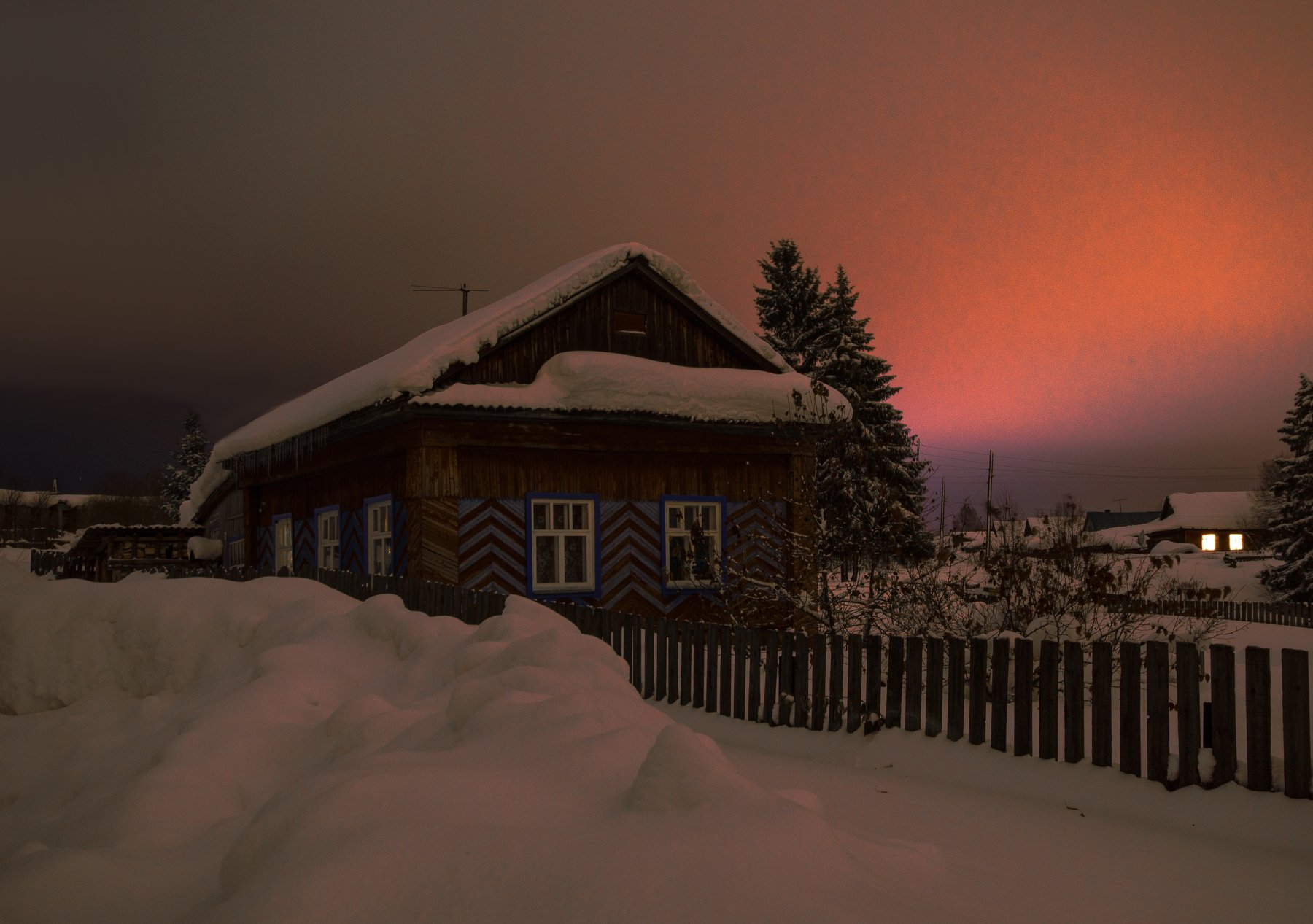 прогулка,сон,небо,зима, Карепанов Евгений