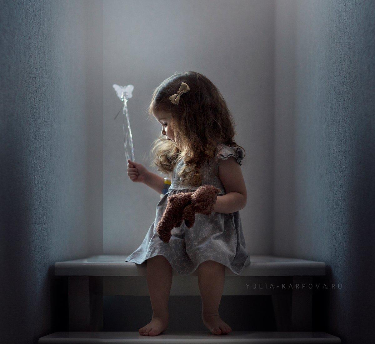 portrait, child, girl, childhood, light, Юлия Карпова