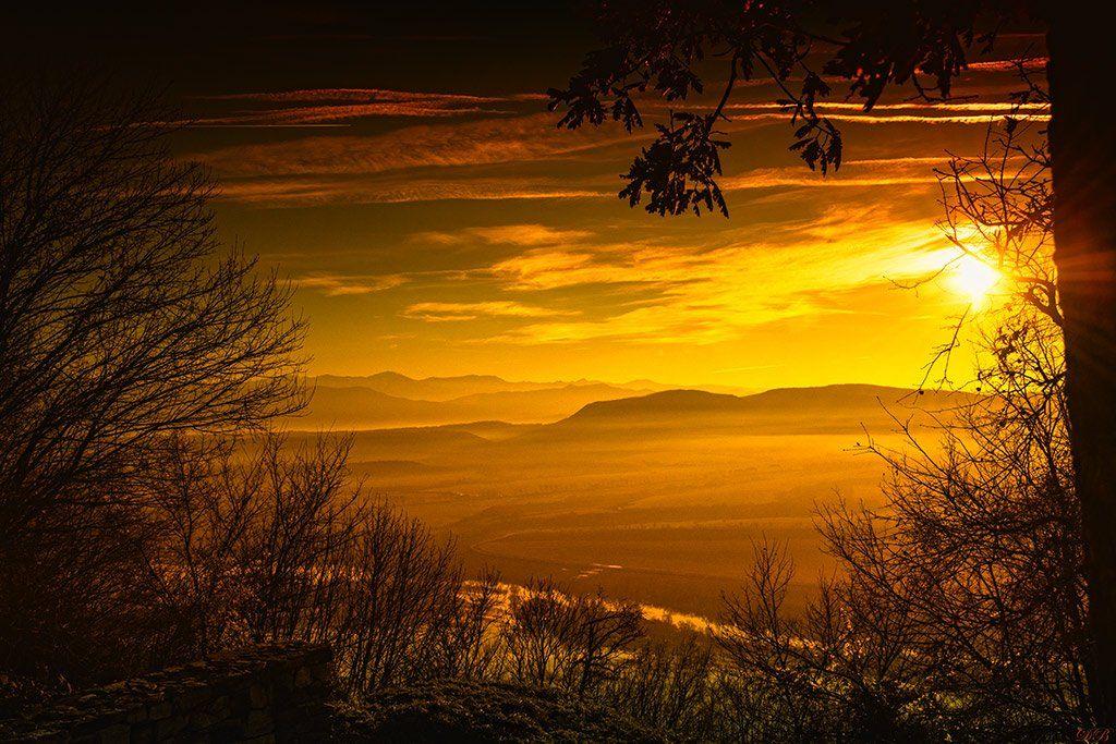 color, colorful, colors, color image, glow, image, landscape, mountain, nature, natural light, photography, skies, sun, yellow,, Dr Didi Baev