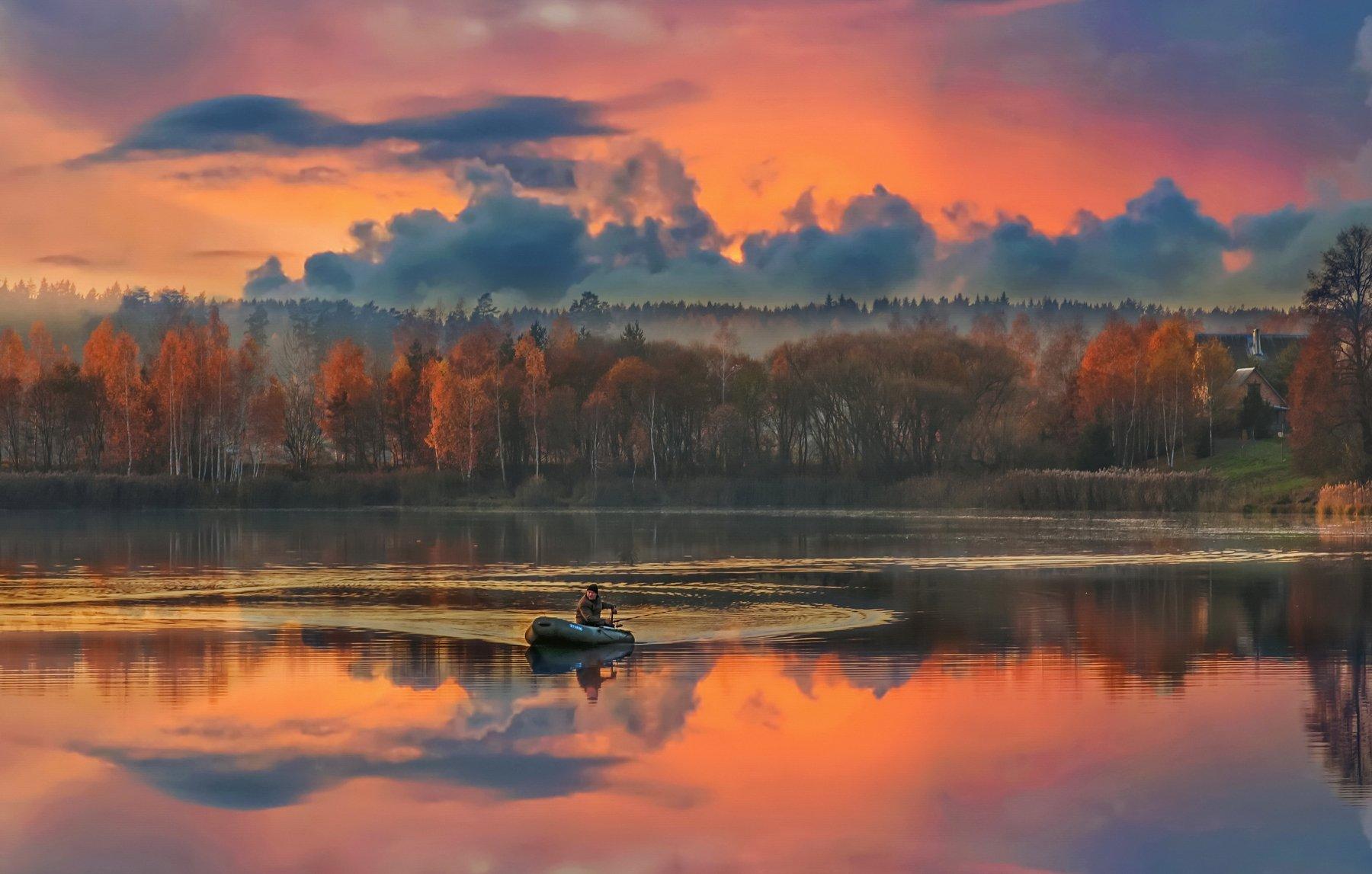 Знает каждый рыболов - на закате лучший клёв... Александр Гвоздь