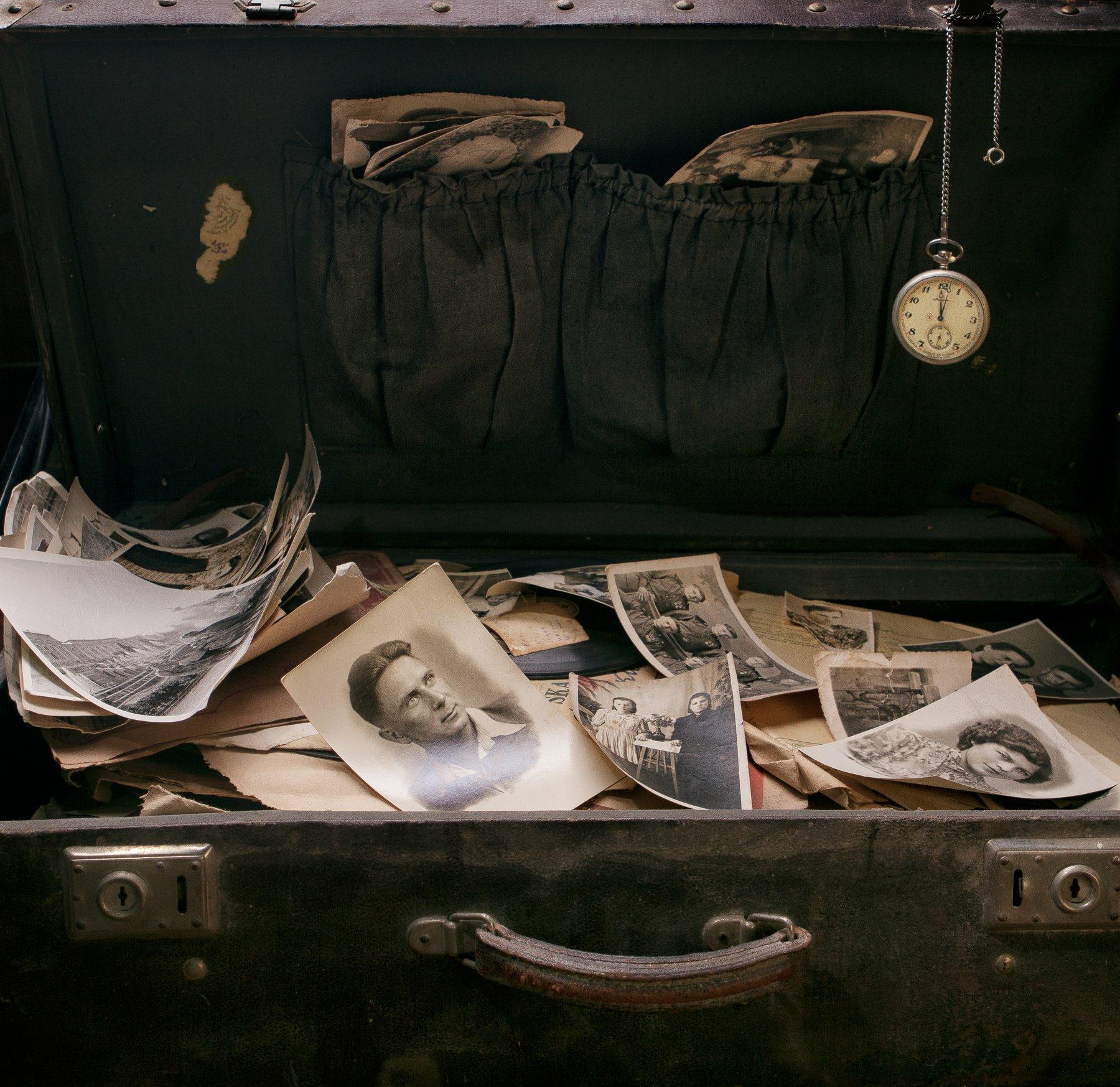 фотографии, часы, карманные часы, чемодан, Наталья Голубева