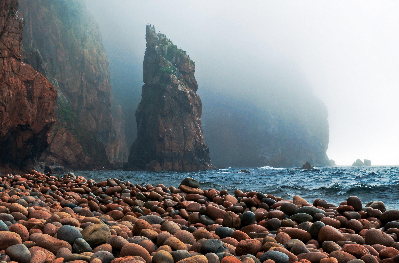 Русский, остров, Владивосток, Приморский край, Приморье, море, скалы, Виталий Берков