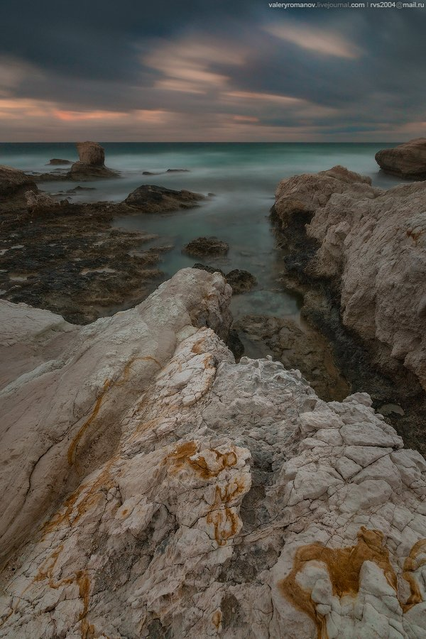 Пейя, Кипр, небо, Восход, море, красота, закат, вода, пляж, путешествия, синие, солнце, свет, облака, побережье, океан, волны, скалы, лето, красивый, зеленый, песок, морской пейзаж, длительная экспозиция, драматический, Валерий Романов
