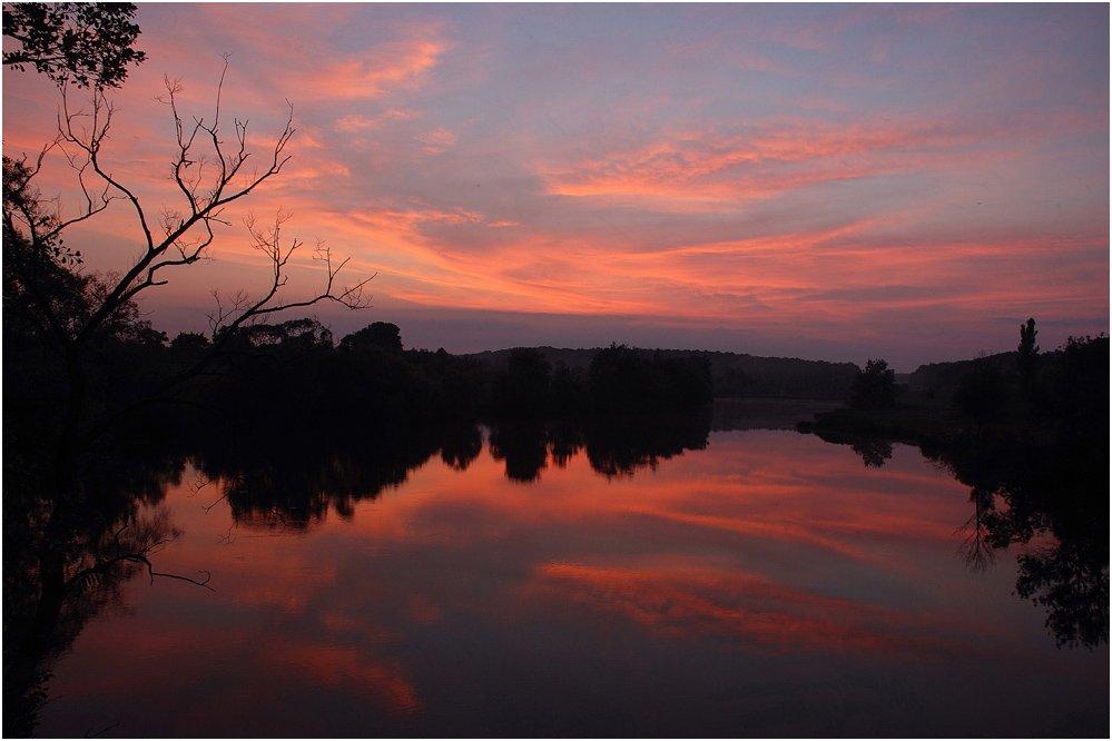 вечер, закат, река_роставица, VictorSe