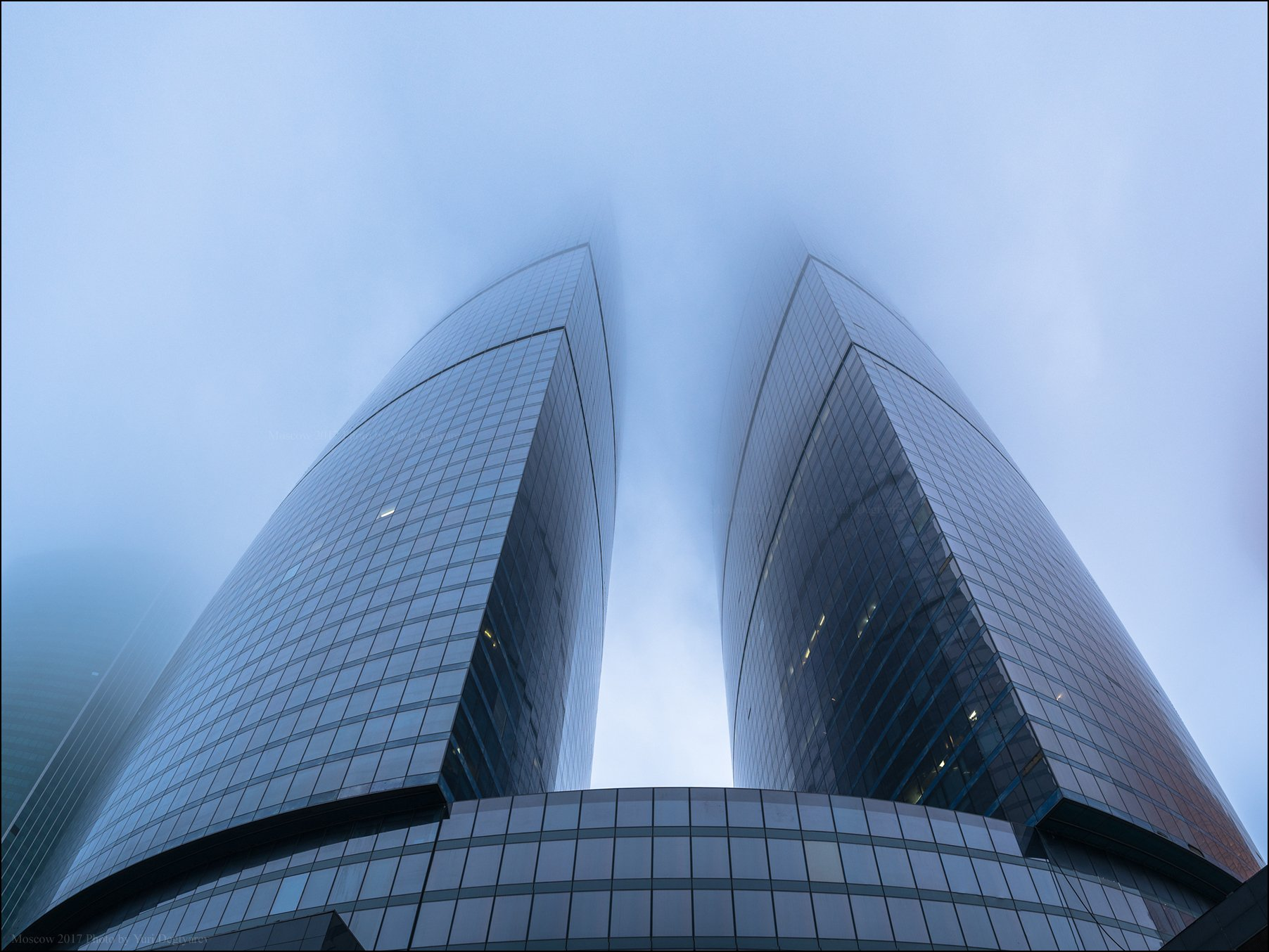 россия, город, москва, столица, сити, туман, небоскреб, высотка, башня, федерация, Юрий Дегтярёв