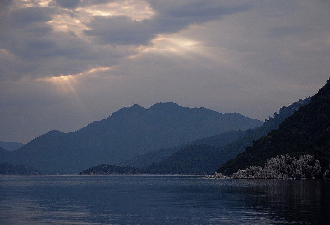 дождит, утро, мармарис, море_эгейское, VictorSe