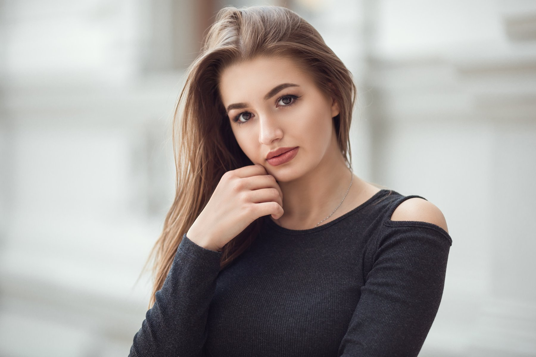 girl, model, beauty, eyes, romanian, girl, artist, art, people, fashion, color, retouch, canon, photography, outdoor, natural, light, 135mm, bokeh, spring, portrait, picture, bucharest, Andrei Marginean