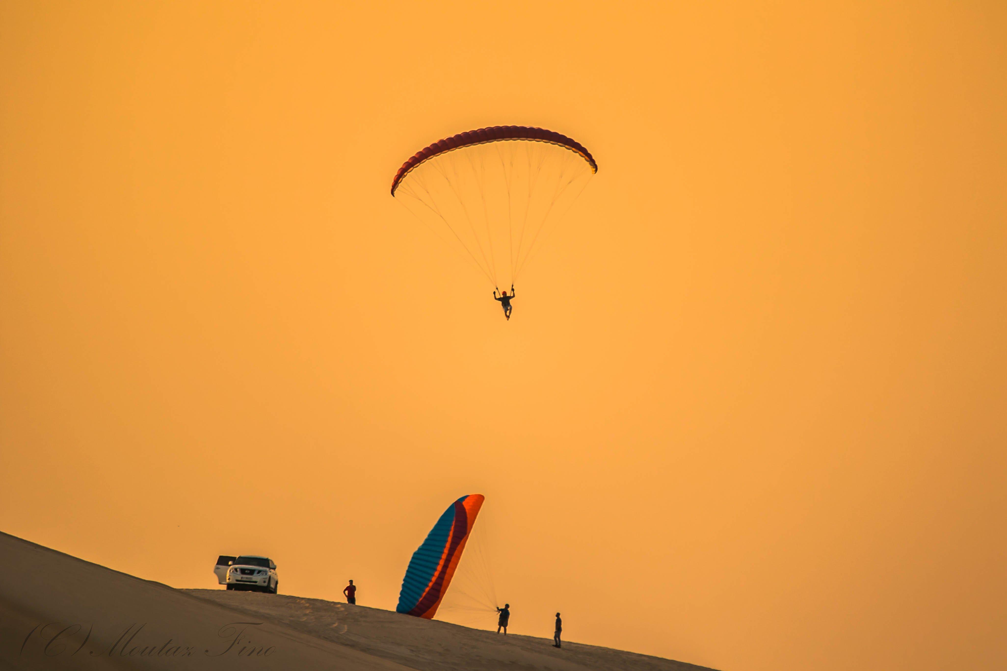 desert dunes sunset light shadow , Moutaz Fino