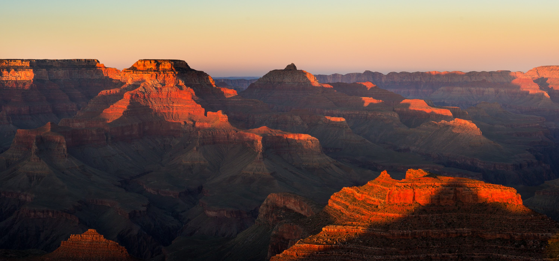 сша, пейзаж, аризона, другой мир, ночь, марс, закат, горы, каньон, гранд, парк, Кирилл Трубицын