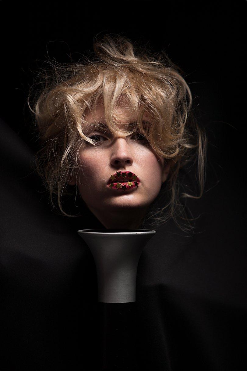 портрет, девушка, стиль, мода, авангард, волосы, блондинка, креатив, гламур, студия, тень, концептуальный, современный, fashion, style, davydov, art, beauty, glamor, Давыдов Михаил