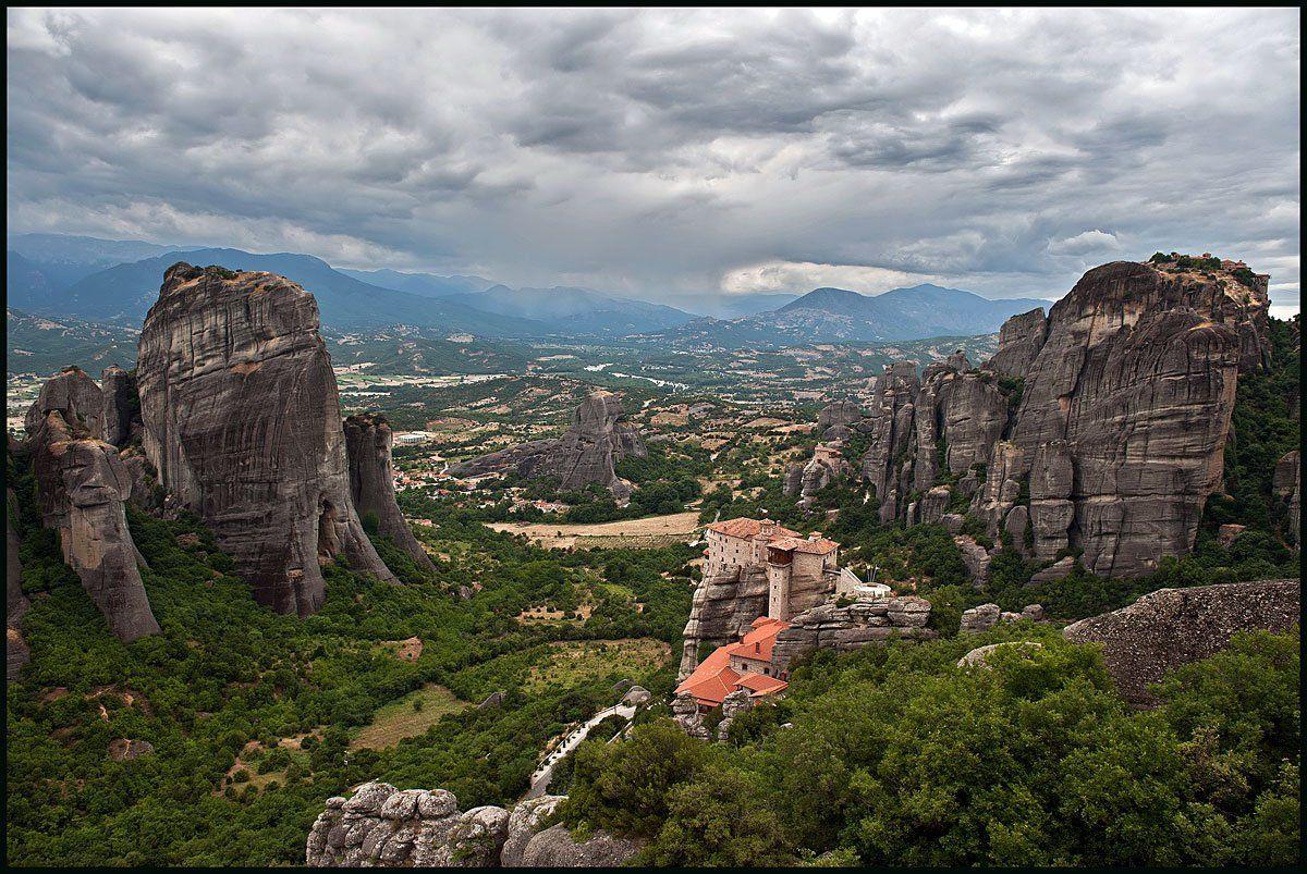 греция, метеоры, монастыри, Олег